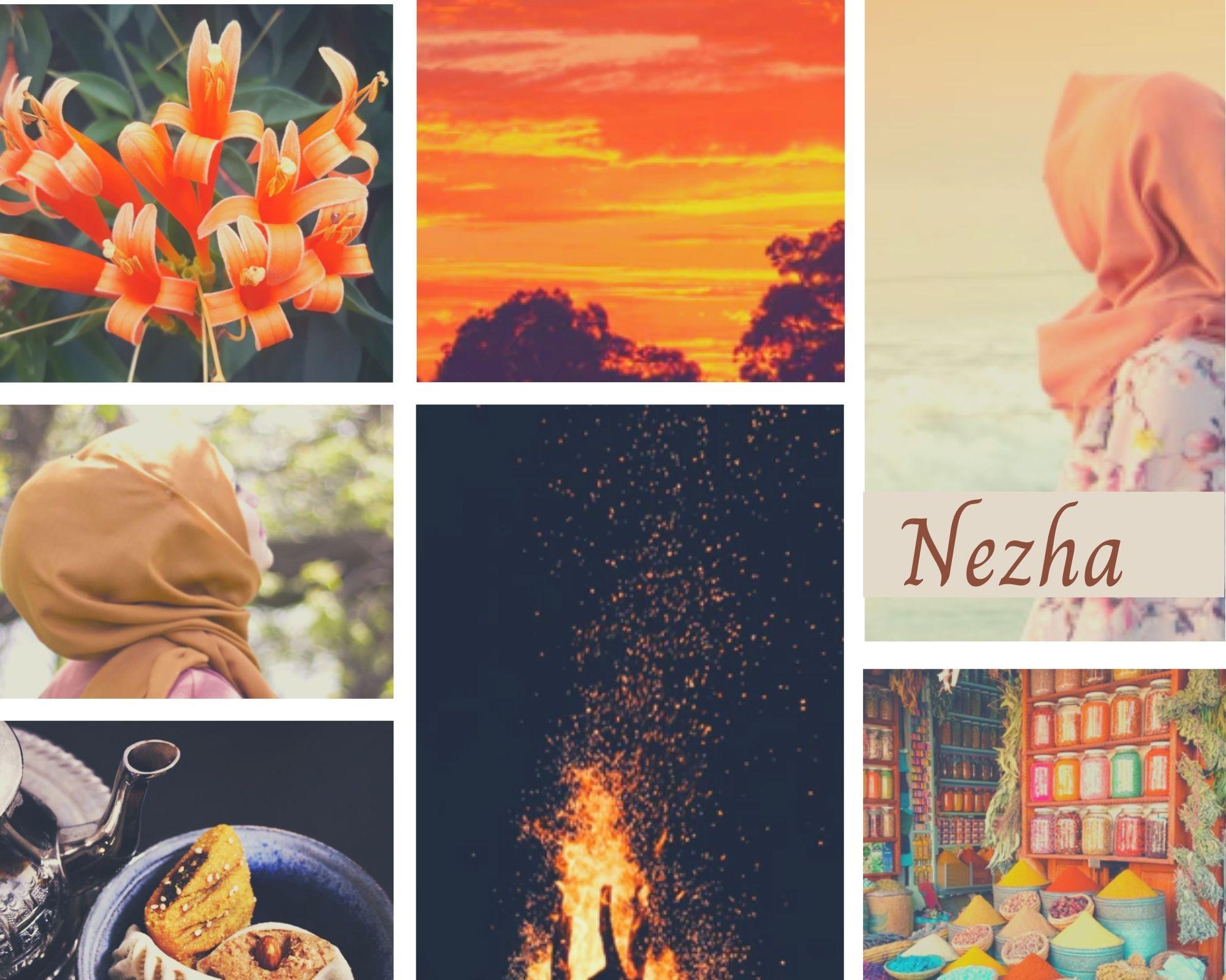 Nezha Moodboard